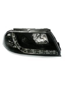 LAMPY PRZEDNIE DAYLINE VW PASSAT 3BG 01-05 CZARNE