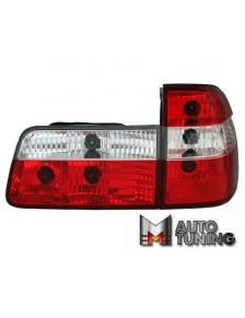 LAMPY TYLNE BMW E39 TOURING RED/CRYSTAL