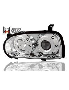LAMPY ANGEL EYES VW GOLF 3 91-98 CHROM