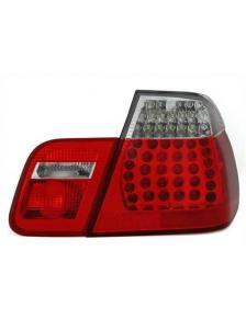 LAMPY TYLNE DIODOWE BMW E46 01-05 RED WHITE