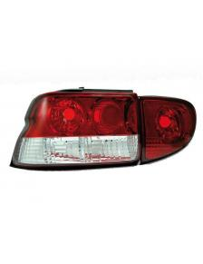 LAMPY TYLNE FORD ESCORT M6/7 RED/CRYSTAL