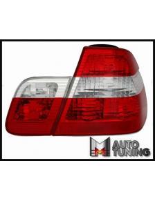 LAMPY TYLNE RED CRYSTAL BMW E46 98-08/01 R/W