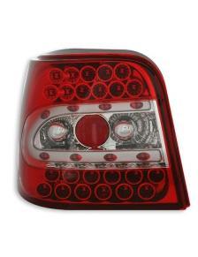 LAMPY TYLNE DIODOWE VW GOLF 4 98-04 CZERWONE