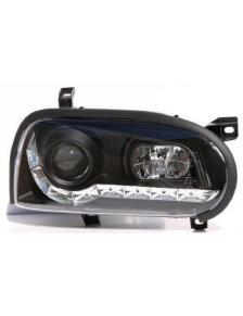 LAMPY DAYLINE VW GOLF 3 91-98 CZARNE