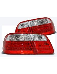 LAMPY LED MERCEDES W210 95-03.02 RED WHITE