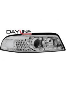 LAMPY PRZEDNIE DAYLINE AUDI A4 99-01 CHROM