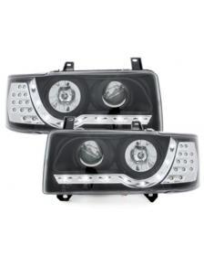 LAMPY DAYLINE VW T4 90-03 CZARNE LED KIERUNEK