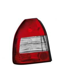 LAMPY TYLNE HONDA CIVIC 96-02 3D RED WHITE