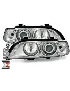 LAMPY ANGEL EYES P. BMW E39 A.E. CHROM H7/H7