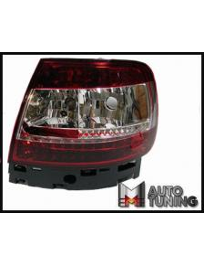 LAMPY TYLNE LED AUDI A4 95-00 RED WHITE