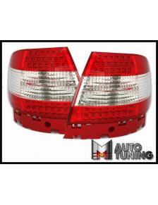 LAMPY TYLNE DIODOWE AUDI A4 B5 LIM 95-10.00 RED WHITE