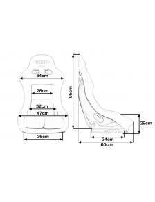 Fotel sportowy GTR Medium...