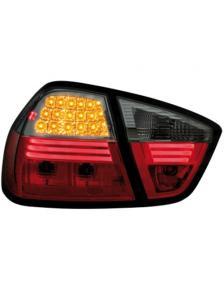 LAMPY TYLNE DIODOWE BMW E90 LIM. 05-08 RED SMOKE