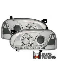 LAMPY PRZEDNIE DAYLINE  VW GOLF 3 91-98 CHROM