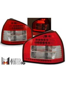 LAMPY AUDI A3 08.96-08.00 RED WHITE LED