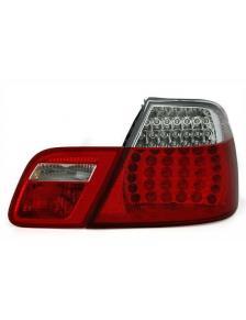LAMPY TYLNE DIODOWE BMW E46 CABRIO 00-  RED WHITE