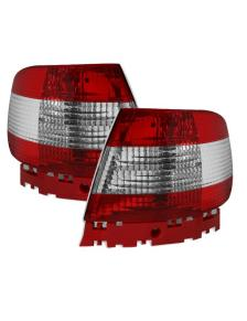 LAMPY AUDI A4 94-00 RED WHITE  CLEAR