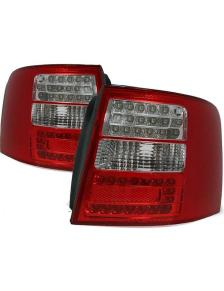 LAMPY DIODOWE AUDI A6 5/97-5/04 AVANT RED WHITE LED