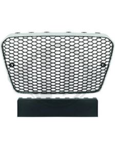 GRILL AUDI A5 12-16 LOOK RS5 CHROM-BLACK