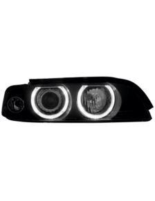 LAMPY ANGEL EYES BMW E39 95-00 BLACK D2S/H7 XENON