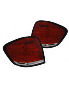 LAMPY TYLNE MERCEDES M-KLASA W164 05-08 RED WHITE