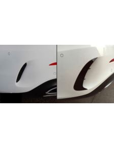 PAKIET AMG OPTIK AERO FLAPS BLACK MERCEDES W177