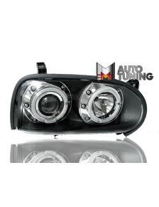 LAMPY ANGEL EYES VW GOLF 3 91-98 BLACK