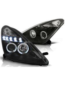 LAMPY PRZEDNIE TOYOTA CELICA T230 99-05 BLACK