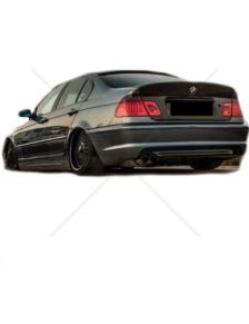 DYFUZOR TYLNY  BMW E46 S/T/C  M-PAKIET   -OO---