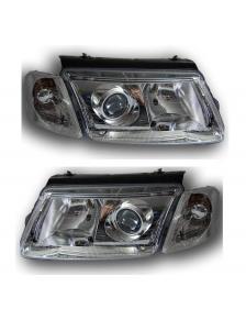 LAMPY VW PASSAT B5 11/96-9/00 CLEAR CHROM