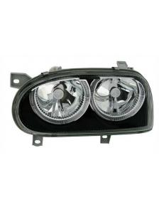 LAMPY ANGEL EYES  VW GOLF 3 91-97 CZARNE