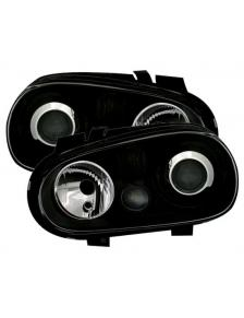 LAMPY PRZEDNIE VW GOLF 4 98-04 R32 CZARNE