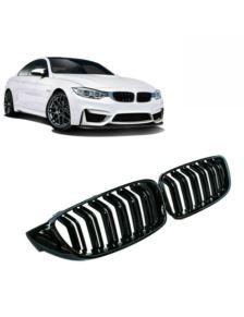 GRILL (NERKI) BMW F32 13- M4 GLOSSY BLACK