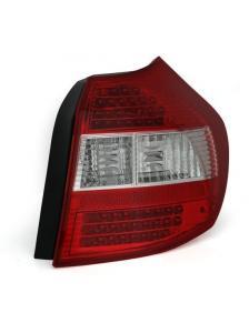 LAMPY TYLNE DIODOWE BMW E87 1ER 04- RED WHITE
