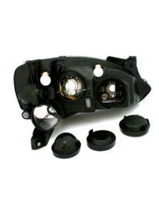 LAMPY PRZEDNIE OPEL CORSA C BLACK 960824