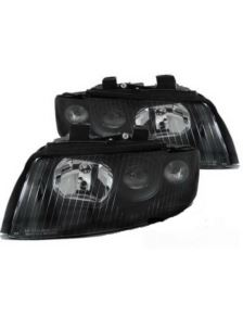 LAMPY SOCZEWKOWE AUDI A4 B6 10.00-10.04 BLACK
