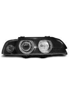 LAMPY PRZEDNIE BMW E39 95-00  BLACK D2S/H7  XENON