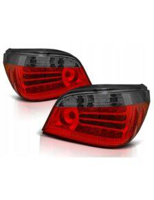 LAMPY TYLNE LED BMW E60 03-07 RED SMOKE