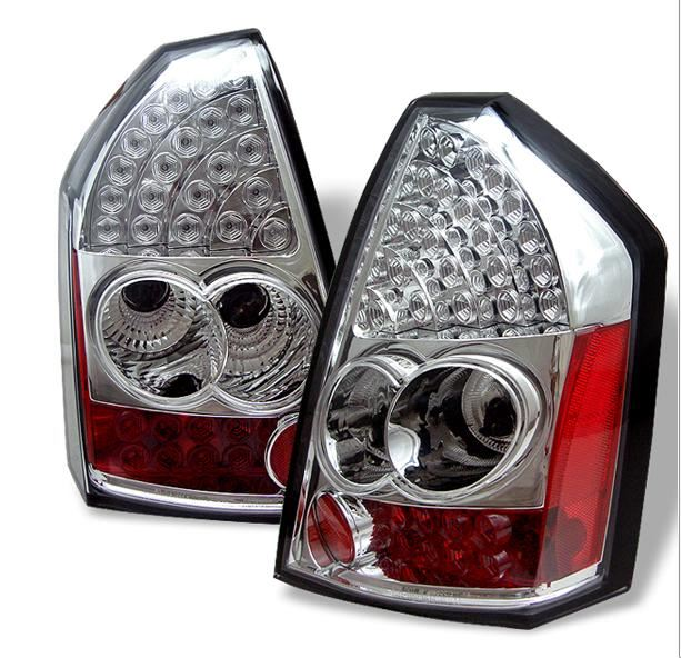 LAMPY TYLNE LED CHROM CHRYSLER 300C 05-08