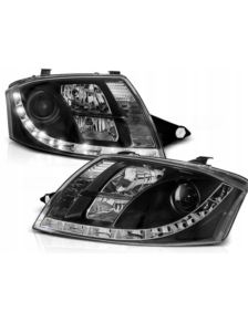 LAMPY PRZEDNIE DAYLINE AUDI TT 99-05 BLACK