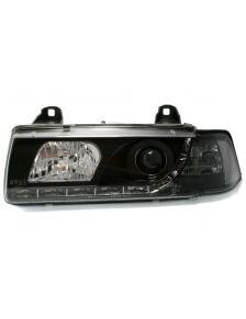 LAMPY DAYLINE CZARNE BMW E36 91-98 COUPE CABRIO
