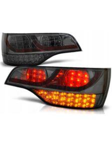 LAMPY TYLNE LED AUDI Q7 05-09 BLACK/SMOKE