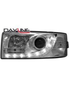 LAMPY PRZEDNIE DAYLINE VW T4 90-03 CHROM