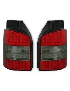 LAMPY TYLNE LED T5 4/03- RED SMOKE