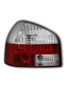 LAMPY TYLNE DIODOWE AUDI A3 8L 8/96-8/03 RED/WHITE