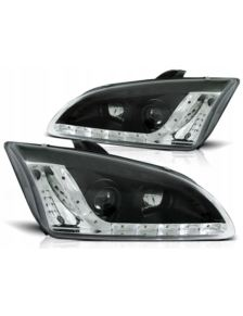 LAMPY REFLEKTORY FORD FOCUS MK2 04- DAYLIGHT BLACK