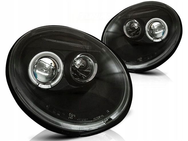 LAMPY ANGEL EYES VW NEW BEETLE BLACK