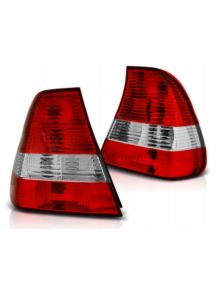 LAMPY TYLNE BMW E46 COMPACT 01-04 RED WHITE