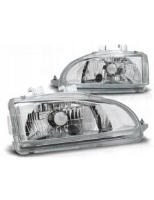 LAMPY PRZEDNIE HONDA CIVIC 91-95 2D/3D CHROME HIT