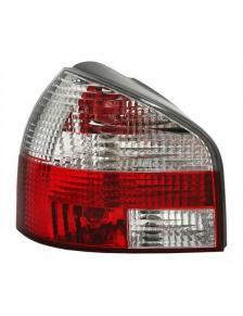 LAMPY AUDI A3 8L 96-03 CLEAR RED/WHITE